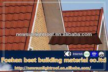 Good Quality Heat Insulation Stone Coated Metal Roof Tile/Better than Shingle Asphalt ,Plastic tile