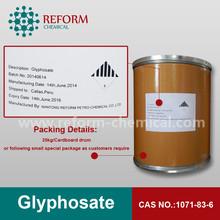 10%, 41%, 48% sl formulazione cas n. glifosato. 1071-83-6