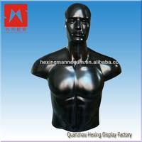 Black torso upper body male mannequin