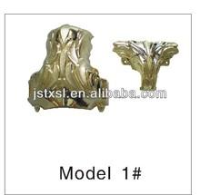 Model 1# funeral plastic casket corner decoration