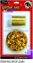 MTJF-Z2B1 glitter gold flake glitter metal flake glitter