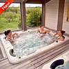 Hot sale KC approval Korea home sex massage hot spa for 6 person massage spa
