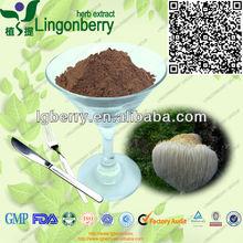 100% natural & organic Lions Mane /monkey head mushroom extract polysaccharides 10%~50%