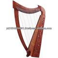 Nova harpa 22 cordas rosewood/harpa irlandesa rosewood 22 cordas