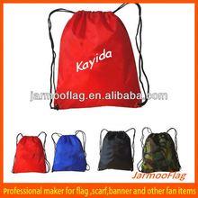 custom advertisement mesh bag with drawstrings