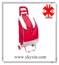 YX-6001 portable Foldable Shopping Trolley Bag with wheels/ Shopping trolley bag