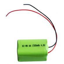 4.8V AA1500mAh NiMH battery/nimh 4.8v aa 1500mah rechargeable battery pack/ni-mh rechargeable battery pack aa 4.8v 1800mah