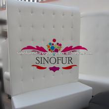em forma de l clássico made in china sofá de couro
