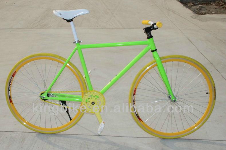 2014โครงเหล็กน้ำหนักเบาจักรยานไฮบริด/โครงเหล็กจักรยานถนน/bicicletaskb-700c-z239