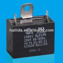 8uf ventilador cbb61 capacitor
