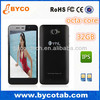 5.0 inch mtk6592 octa core 1.7GHZ IPS 3G 8mp camera mobile phone