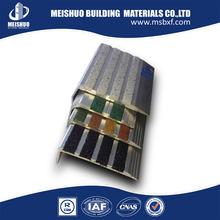 anti-slip stair nosings/non skid stair tread with aluminum profile base (MSSNC-10)