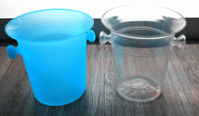2014 hot sale high quality plastic acrylic ice bucket A8103 from factory