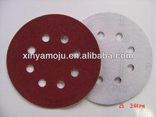 Velcro abrasive sandpaper disk
