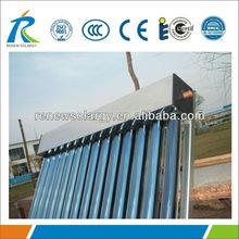 Non pressure all glass 12 vacuum tubes Solar Heating Panels