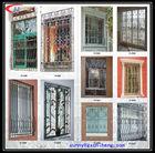 Modern french design window iron grills