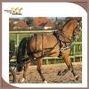 Flexible horse driving harness