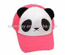 cute wholesale embroideried animal caps and hats mesh children cap