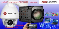 Dome PTZ Hikvision Network Camera with alarm system china top ten selling products