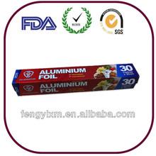 Good quality household aluminium foil roll
