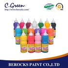 Cgreen 500ml artist quality acrylic paint in soft bottle