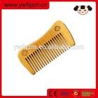 Promotional Nanmu Cheap Wood Beard Comb