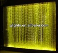 waterfall curtains lights Customized Optic Fiber for Wall Decoration , Curtain Lighting PMMA optic fiber curtain light