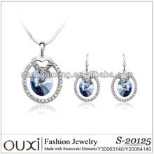 2014 Fashion full set jewellery made with Swarovski Elements S-20125