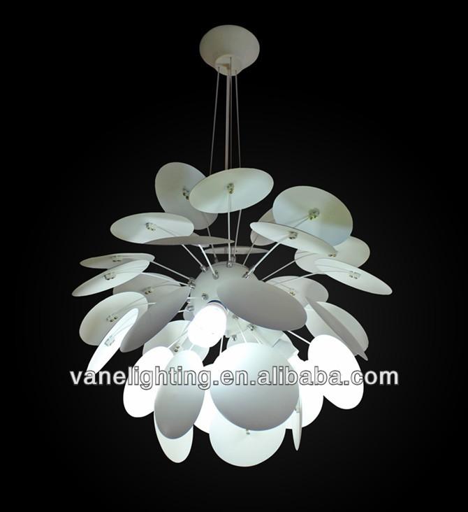Pinecone aluminum pendant lamp