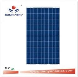 180W a grade solar panel/solar panel for lighting/solar panel for street light TYP180