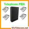 Hot selling PBX for soho business phone system solution-VinTelecom 308M PABX much cheaper than Panasonic PBX