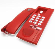 wall mounte corded phone , landline telephone , slim line telephone