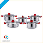 Stainless Steel Cookware Set 10 pieces