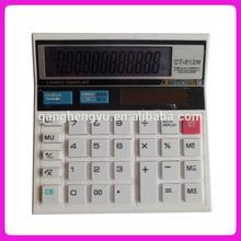 Multi-functional desktop office solar calculator CT-512W
