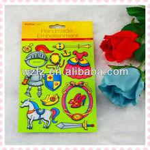 3D paper sticker for Handmade Embellishment