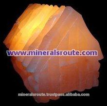 Himalayano naturale artigianale/fatto a mano fantasia cristallo di rocca lampade di sale