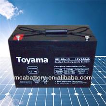 12V100Ah advanced sealed lead acid battery AGM battery power battery