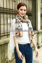 100% pure wool scarf series--Beautiful, Elegant, Fashion, dobby, three color--rose&pink&orange color, comforter & wool muffler