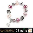 2014 fashion bulk bead charm bracelet jewelry wholesale