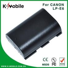 Genuine Digital Camera Batteries 1800MAH LPE6 For Canon LP-E6 Camera Battery