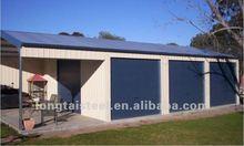fast installed steel structure frame living smart home (LTG241)