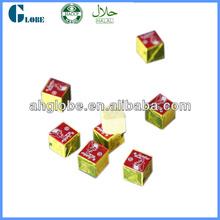 Customized flavors available Bouillon cube chicken bouillon cube/stock hotpot cube