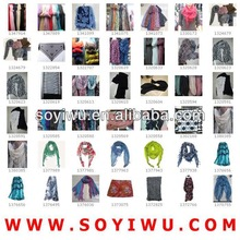 Yellow Scarf Pashmina manufacturer wholesaler from Yiwu Market for Scarf & Scarves