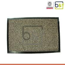 fashion factory unique polypropylene surface pvc door mat
