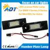 LPL-E87 Car LED license plate lamp for BMW E81 E87 E87N E85(Z4) E86(Z4 coupe) E63 E64(M6) E64N for Mini R55 Astra H GTC(Saloon)