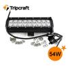 9.25 inch Aluminum housing Led Light Bar 54W LED LIGHT BAR for truck atv boat agriculture farming motorcycle