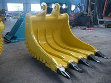 Excavator Attachment of special bucket for handle big rock slab excavator bucket