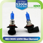 XENCN HB3 9005 12V 100W 5300K Blue Diamond Light Xenon White Look Car Bulbs Headlight Halogen Lamp AAA Grade