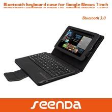 Ultra slim tablet keyboard case for google nexus 7