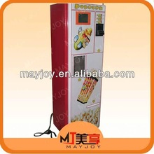 Made in China automatic coin operated popcorn machine